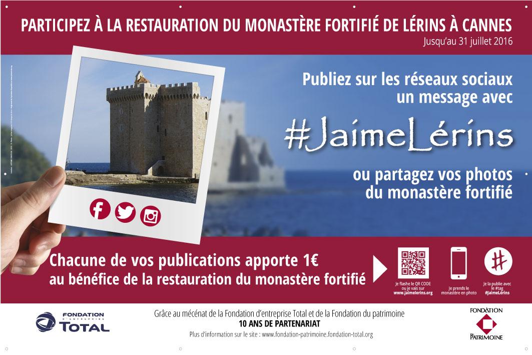 #JaimeLérins - Restauration Monastère Fortifié